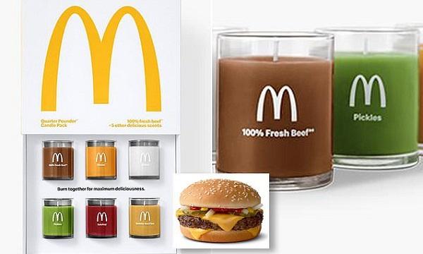мерч от бренда McDonald's