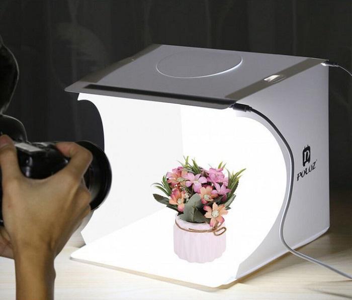 фотокуб для предметной съемки в инстаграм
