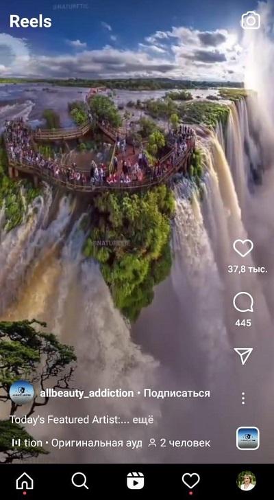 видео reels в инстаграм