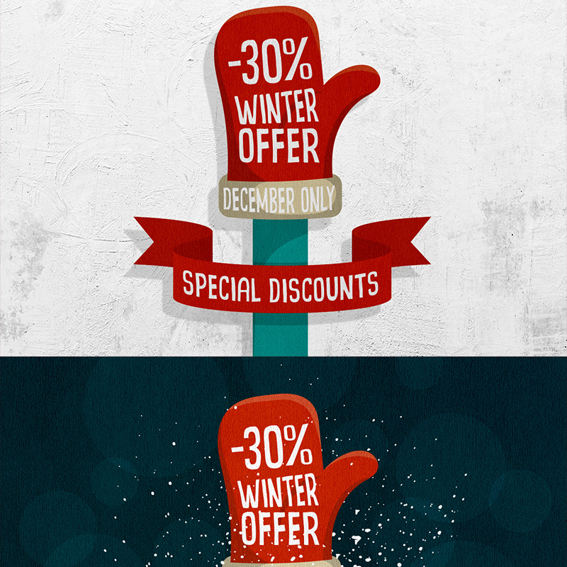 Иллюстрация Winter Offer